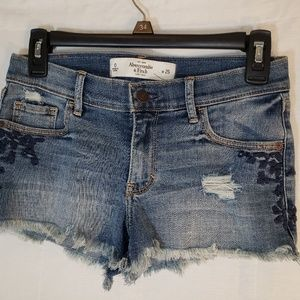 Abercrombie & Fitch Denim Shorts Women Size 0 /25